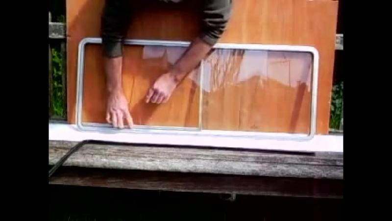 Vw t25 t3 sliding window glass removal.mp4