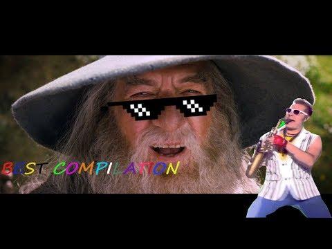 Gandalf Sax Guy COMPILATION 2018