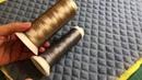 Стежка заготовки для сумки орнамент из ромбов