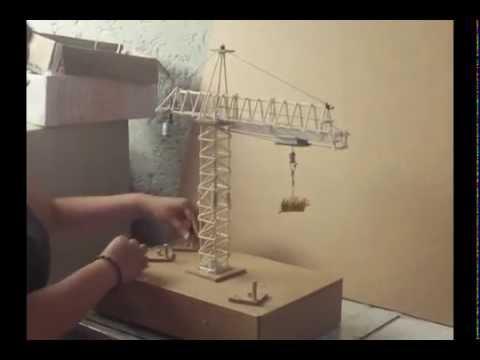Proyecto de Fisica GRUA TORRE