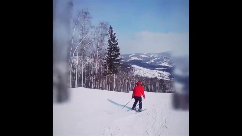 Зарядка на 20 марта. Горные лыжи