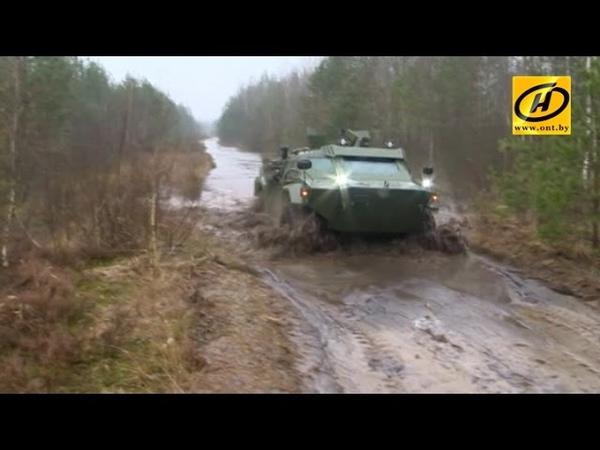 Белорусская бронемашина Кайман бездорожье, плавание, стрельба