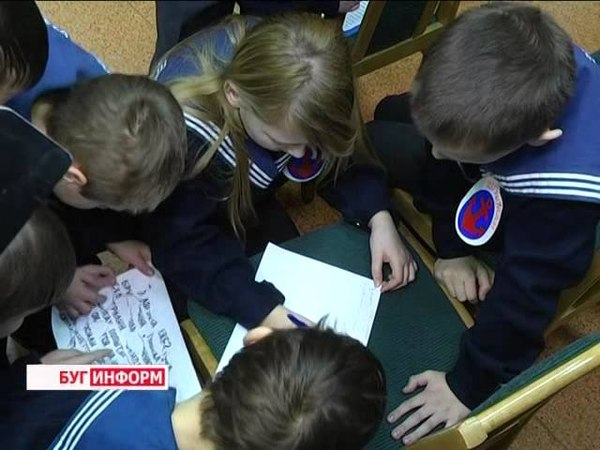 2015-02-20 г. Брест. Посвящение в юнги. Телекомпания Буг-ТВ.