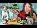 Собачья Еда ПРОТИВ Настоящей Челлендж ч 2 Не Обычная Еда Elli Di Pets