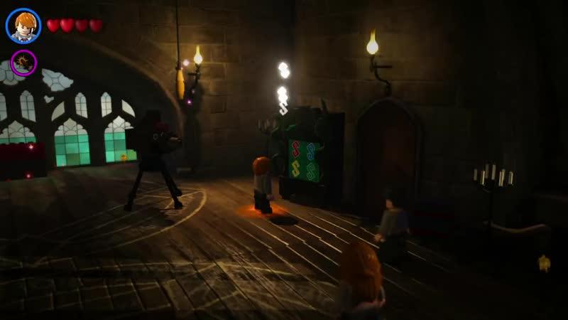 Сладкий канал Мозга LEGO Harry Potter Years 5 7 2 Уроки Магии PS4 прохождение