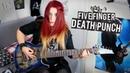 Five Finger Death Punch - Burn MF [GUITAR COVER] | Jassy J