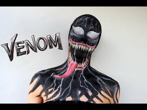 VENOM | SFX Halloween Makeup Tutorial