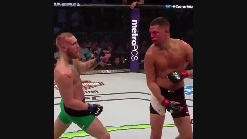 Вот откуда тот самый легендарный удар UFC от Nick Diaz ! 💪👊🔥😎ufc229 ufc nickdiaz diaz khabibtime khabibnurmagomedov conor