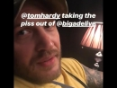 Tom Hardy taking the piss out of Bigadelive