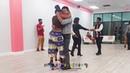 HAITI AND JAMAICA DANCING KOMPA DANCE CLASS WITH CLAUDEL