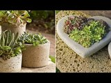ПОДЕЛКИ ИЗ ЦЕМЕНТА! CRAFTS MADE FROM CEMENT, CEMENT IDEAS