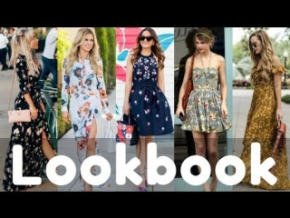 Trendy Summer Floral Dresses Lookbook 2018 | Summer Fashion Style