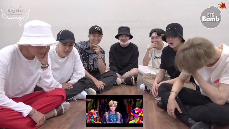 [Rus Sub] [Рус Саб] [BANGTAN BOMB] BTS IDOL MV reaction - BTS (방탄소년단)