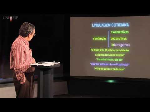 Matemática - Aula 1 - Lógica, Matemática e Linguagem cotidiana - Parte 1