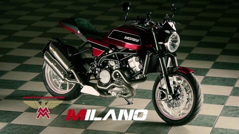 Moto Morini Milano, la moto dei sogni