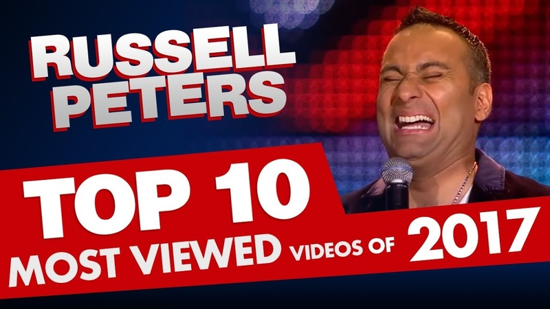 Top 10 (MOST VIEWED) Russell Peters Videos of 2017! (All In One)