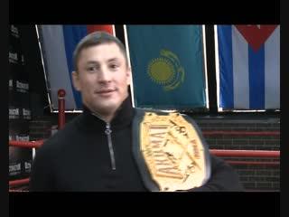 В гостях у Дмитрия Кудряшова в зале бокса (Волгодонск 1.12.2018)