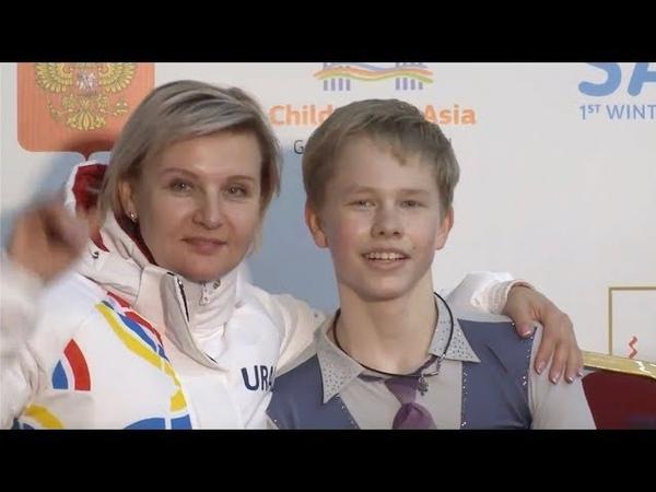 Георгий Марков I Winter Children of Asia Games Junior Men Free Skate