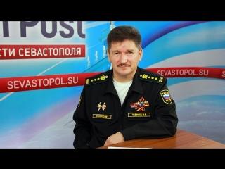 В эфире главный судебный пристав Севастополя Юрий Чудновец