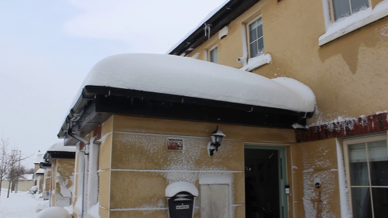 Snow in Naas, Co.Kildare, Ireland on 02/03/2018 after Storm Emma
