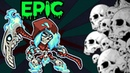 NEW EPIC MIRAGE ANIMATED SKIN WEAPONS TAUNT Brawlhalla Gameplay