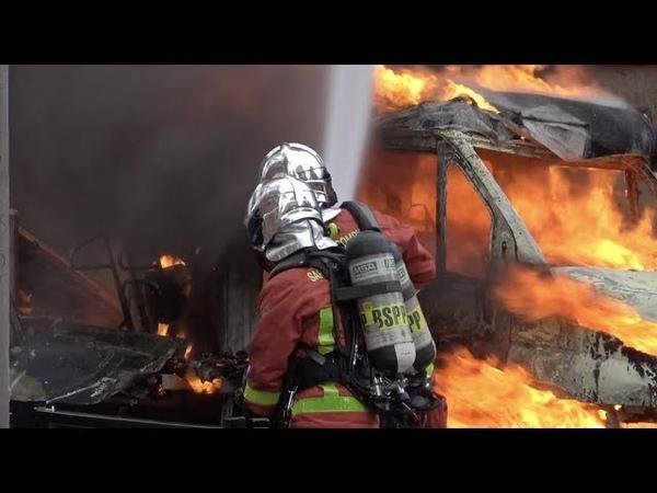 Blocus de lycées incidents et véhicules en feu ( 6 décembre 2018, Clichy, Paris)