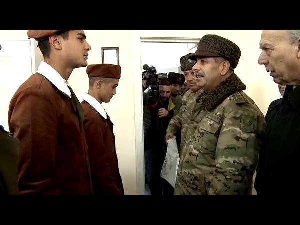 """Müdafiə naziri """"Açıq qapı"""" günündə iştirak edib - 29.12.2018"""