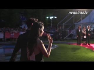 180712 Минхо и актриса Им Джи Ён на красной ковровой дорожке