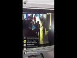 Запись с камеры наблюдения, сделанная в момент начала пожара в Кемерове
