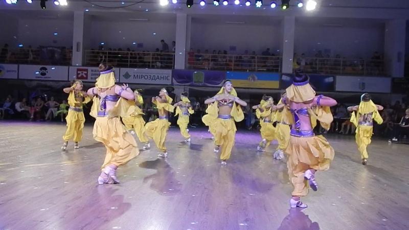 -Всеукраинский Фестиваль Феерии (г.Днепр)- 20.05.2018г.-индийские танцы