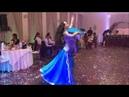 В тумане моря голубом шоу с вейлом и таблой The ocean wave bellydance show with veil and drums