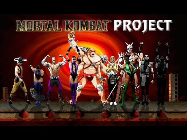 M.U.G.E.N Mortal Kombat Project 2.9 (PC) - Characters gameplay - Part 2