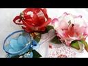 Xícara Flor de Garrafa Pet Lembrançinha para o Dia das. Mães!