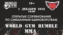 WORLD GYM RUMBLE — 1 декабря 2018 г. Красногорск