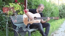 Cenk Erdogan plays Baritone Fretless Acoustic Guitar