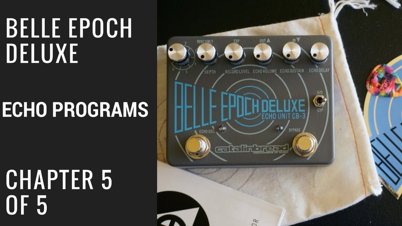 Belle Epoch Deluxe: Out of The Box 5 of 5 Echo Program Tips
