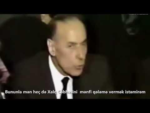 Laçın Məmişovun Böyük Oyun və Kəlbəcər düyünü filmindən fraqment