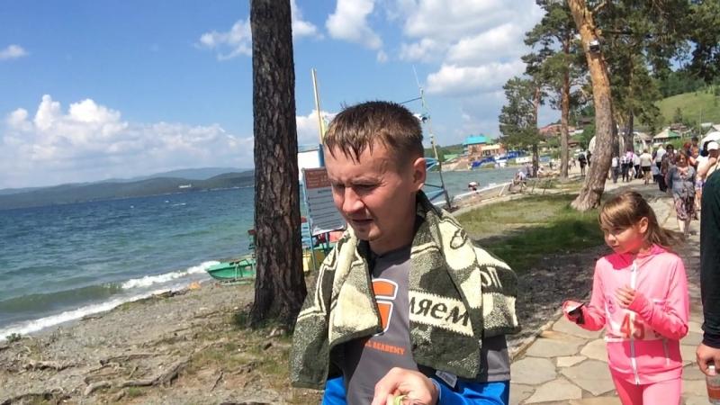 озеро Тургояк 23.06.18 после марафона
