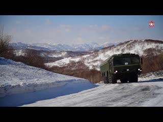 На Камчатку поступили ПБРК «Бастион»