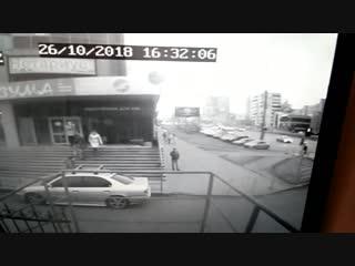 Момент перед ДТП с Денисом 26.10.2018