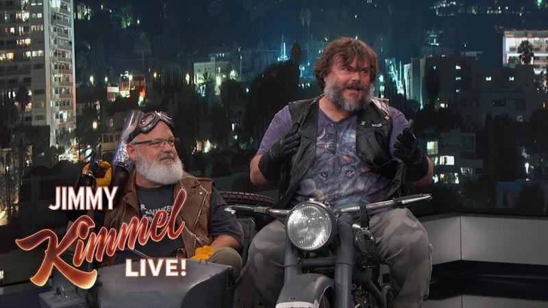 Tenacious D Interrupts Jimmy Kimmel's Monologue