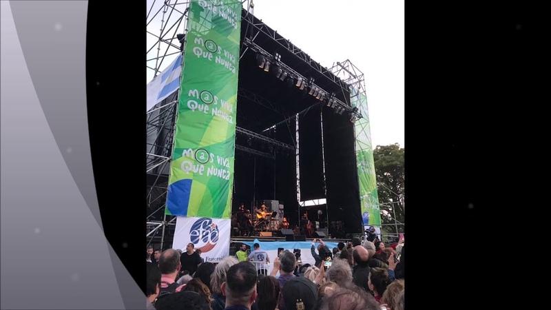 Silvio Rodriguez en Avellaneda 28 de octubre 2018