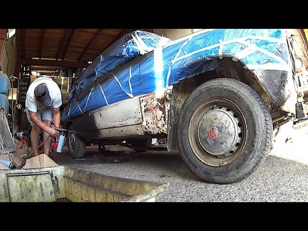 VAZ-ZILLA - How to paint the car for $ 83, how to remove scratches and dents on the car