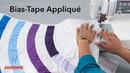Modern Quilting with Bias-Tape Appliqué | Bluprint Janome