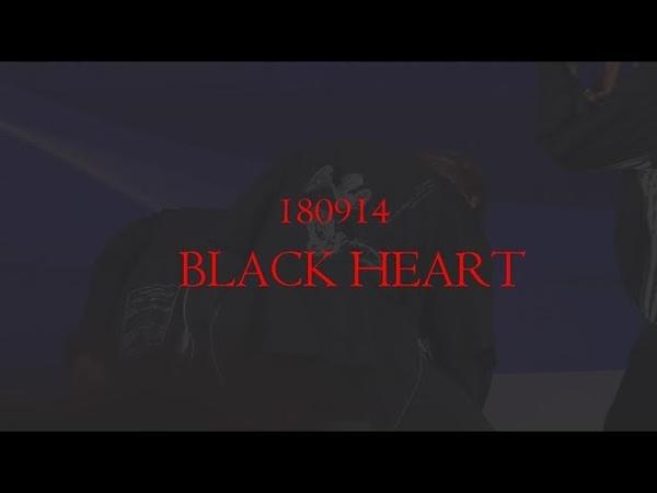 180914 청춘해콘서트 BLACK HEART (CHAN FOCUS)