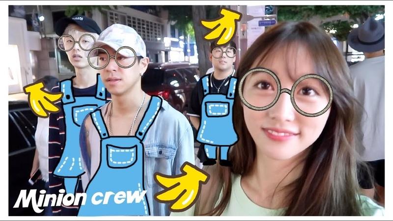 Vlog15 Shopping With The Minion Boys (ft. Jae, Alex, Bernard)