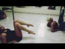 Реальная тренировка Exotic pole dance 🔹 без прекрас! Обучение! С нуля! Школа танца Мириданс, miridance