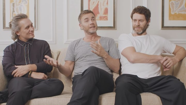 "Take That on Instagram: ""We love bumping into you Thatters! We've all grown up together and something new and exciting has always happened in our l..."