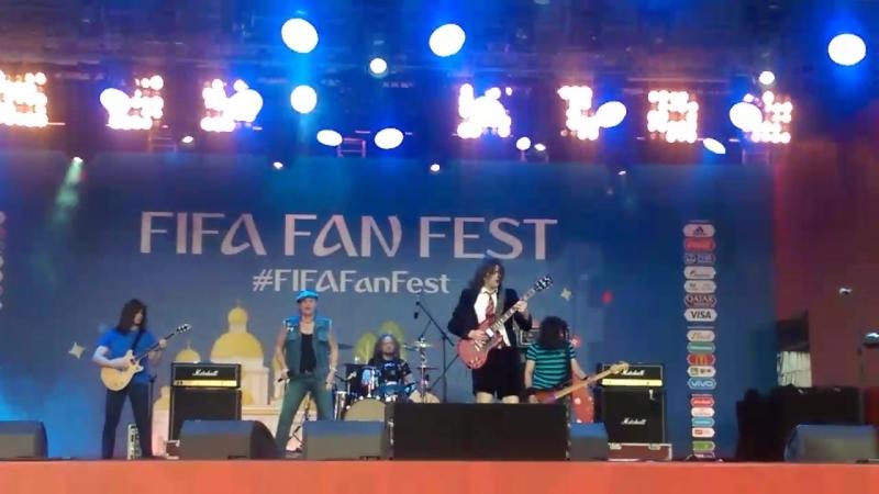 Easy Dizzy - Big Gun (AC DC Tribute live in Саранск)