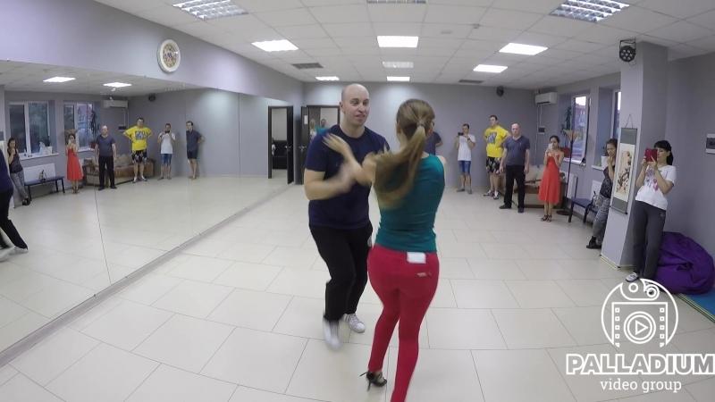 12 07 2018 Сальса в школе танцев Palladium